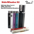 "New Tesla Sidewinder II S2 (3-6v) 2000mAh The First SUB OHM VV Variable Voltage ""Twist"" Battery"