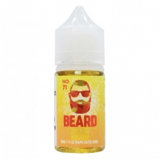 BEARD NO. 71 SALT NIC 30ML E-LIQUID