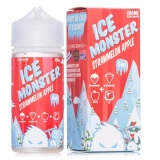 JAM MONSTER ICE EJUICE STRAWMELON APPLE 100ML