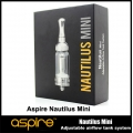 New Aspire Mini Nautilus Adjustable Airflow Tank System
