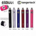 "Kanger eVod VV 650mah Variable Voltage eVod ""Twist"" Battery"